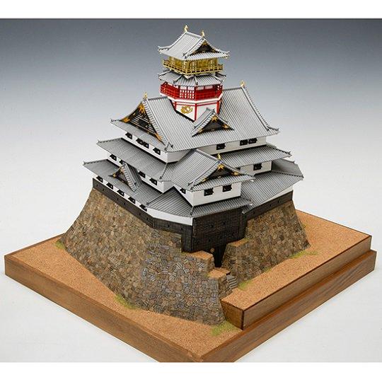 木製建築模型 1/150 安土城