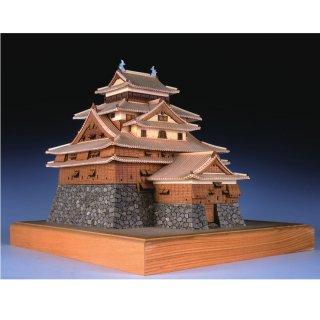 木製建築模型 1/150 松江城