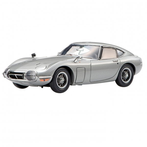 1/24 TOYOTA 2000GT SILVER