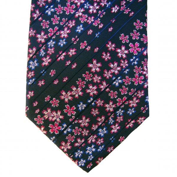 西陣織 オリジナルネクタイ 桜満開