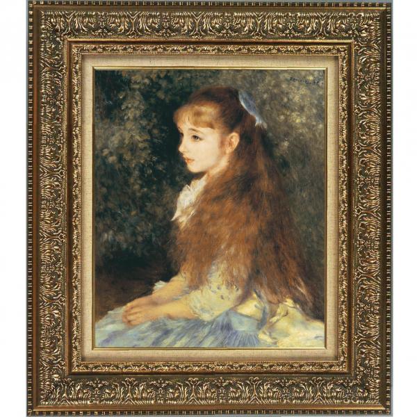 プリハード複製画/ピエール・オーギュスト・ルノワール「イレーヌ・カーン・ダンヴェルス嬢の肖像」