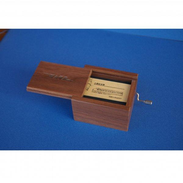 鉄メロ オルゴール 木箱