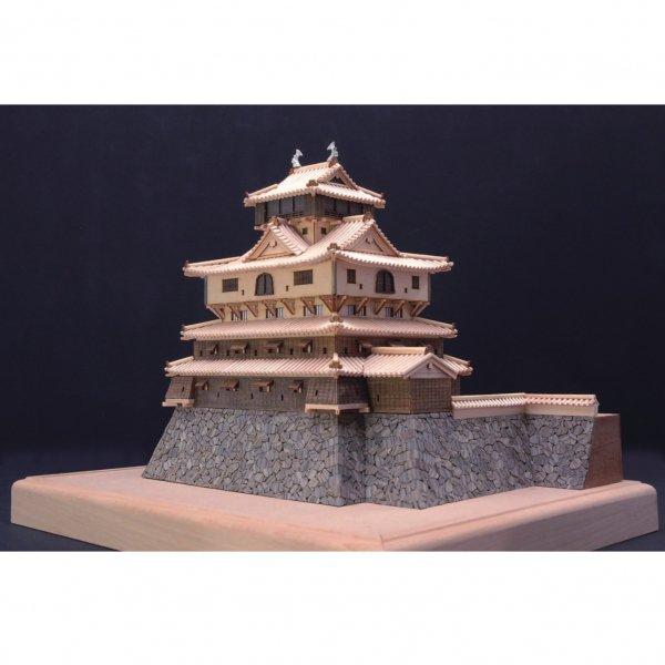 木製建築模型 1/150 岩国城