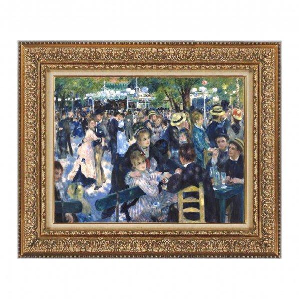 プリハード複製画/ピエール・オーギュスト・ルノワール「ムーラン・ド・ラ・ギャレット」