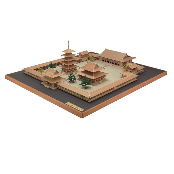 1/150 法隆寺 全景