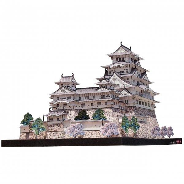 ファセット/ペーパークラフト 1/300 国宝 姫路城