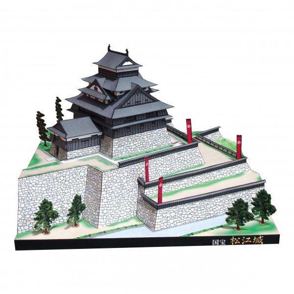 ファセット/ペーパークラフト 1/300 国宝 松江城