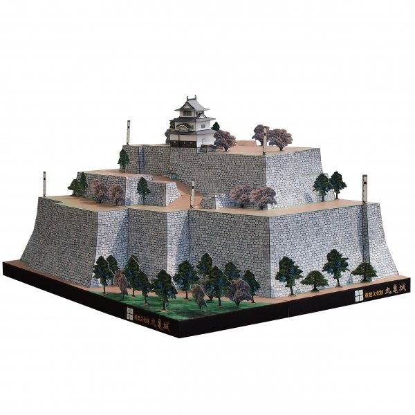 ファセット/ペーパークラフト 1/300 丸亀城