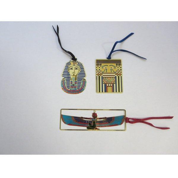 古代エジプト学 ステンドブックマーカー 3種セット