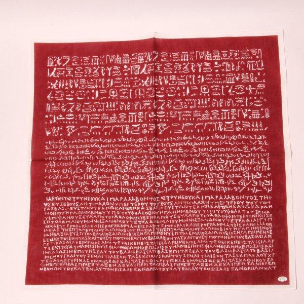 ロゼッタストーン・ハンカチ(3色セット)