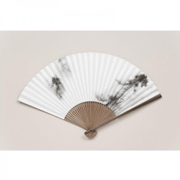 扇子〈国宝 松林図屏風〉長谷川等伯筆(男女兼用)