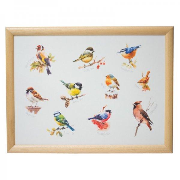 クッショントレイ British Birds