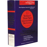 Webster's Third New International Dictionary (プリント版)