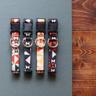 Onomichi Collar]<br>Size M<br>Beige / Navy