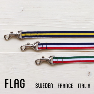 Flag Lead<br>SizeS<br>Sweden/France/Italia