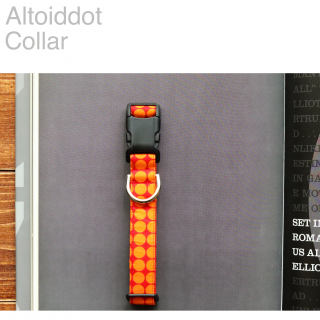 Altoiddot Collar<br>Size S<img class='new_mark_img2' src='https://img.shop-pro.jp/img/new/icons57.gif' style='border:none;display:inline;margin:0px;padding:0px;width:auto;' />
