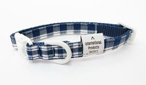Twin collar<br>navy Size SS<br>