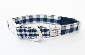 Twin collar<br>navy Size S<br>