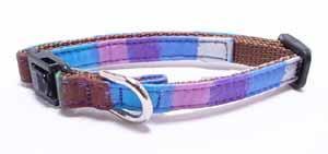 Crayon collar<br>ブルー Size SS<br>