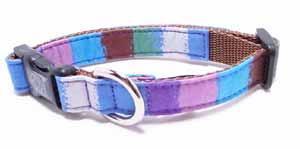 Crayon collar<br>ブルー Size S<br>
