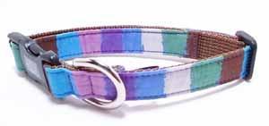 Crayon collar<br>ブルー Size M<br>
