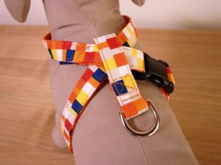 Pixel harness<br>Yellow<br>S/M/L