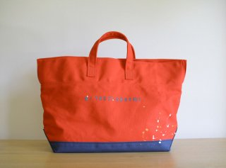 CARRY BAG <br>CottonTote[Paint]<br>Red