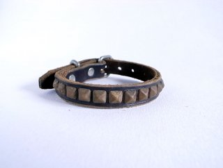 HTC collar<br> Beat (Dark Brown)<br>Size S-8in