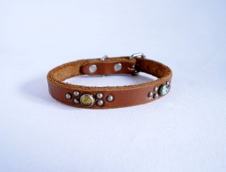 HTC collar<br> Jelly Beans (Brown)<br>Size S-10in