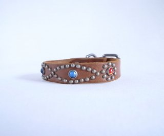 HTC collar<br> San-ta Fe (Brown)<br>Size M-10in