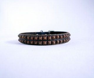 HTC collar<br> Beat (Dark Brown)<br>Size M-12in