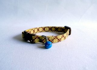 Cat collar<br>Maja<br>[Yellow]