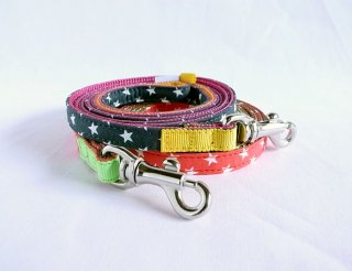 Hoshi Lead<br>Size SS<br>Red/Grey<br>