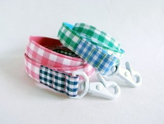 Twin Lead<br>Size M<br>Pink/Green<br>