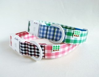 Twin Collar<br>Size L<br>Pink/Green<br>