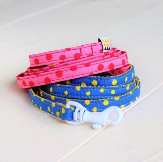 Candydot Lead<br>Size SS<br>Blue / Pink<br>