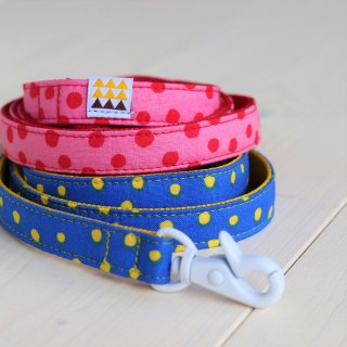 Candydot Lead<br>Size S<br>Blue / Pink<br>