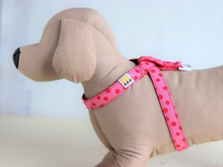 Candydot Harness<br>Pink