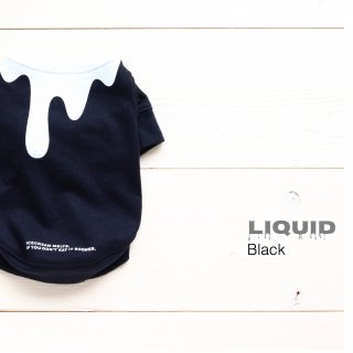 Liquid  T-Shirts<br>Brack<br>Size SS ~ XL