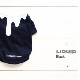 Liquid  T-Shirts<br>Brack<br>Size SS ~ XXL