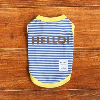 HELLO! Tank top<br>Navy<br>Size S ~ XXL