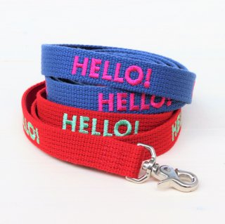 HELLO!(ハロー) Lead<br>Size M<br>Red / Indigo