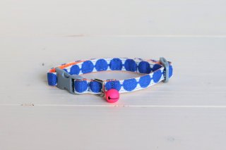 Cat collar<br>Globe <br> [blue]