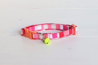 Cat collar<br>Pixel<br> [Pink]