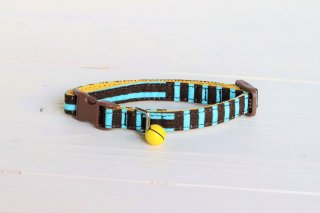 Cat collar<br>Kidstripe (キッドストライプ)<br> [Mint]
