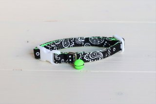 Cat collar<br>Bandana(バンダナ)<br> [Black]