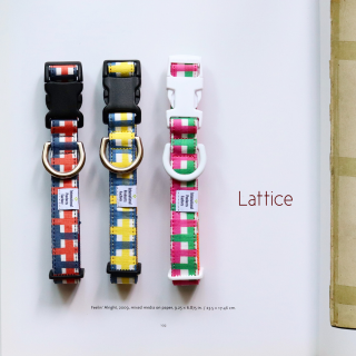 Lattice Collar<br>Size SS<br><img class='new_mark_img2' src='https://img.shop-pro.jp/img/new/icons57.gif' style='border:none;display:inline;margin:0px;padding:0px;width:auto;' />