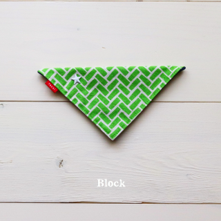 Block  Bandana<br>Size 1 / 2 / 3<img class='new_mark_img2' src='https://img.shop-pro.jp/img/new/icons5.gif' style='border:none;display:inline;margin:0px;padding:0px;width:auto;' />