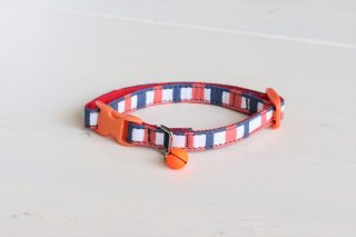 Cat collar<br>Lattice<br>Navy<img class='new_mark_img2' src='https://img.shop-pro.jp/img/new/icons5.gif' style='border:none;display:inline;margin:0px;padding:0px;width:auto;' />