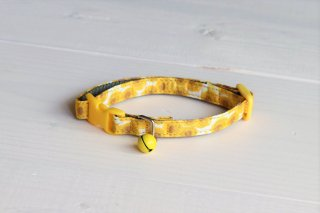 Cat collar<br>LIBERTY Sunbeam<br>Yellow<img class='new_mark_img2' src='https://img.shop-pro.jp/img/new/icons5.gif' style='border:none;display:inline;margin:0px;padding:0px;width:auto;' />